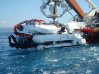 NSRS - SRV 1 - NATO Submarine Rescue System - Submarine Rescue Vehicle.